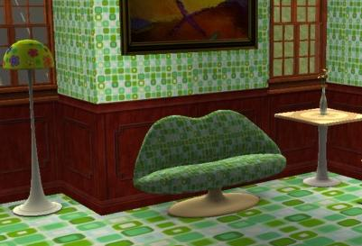 Gem Green Love Seat Preview