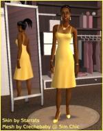 Yellow summer dress Preview