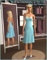 Blue summer dress Preview