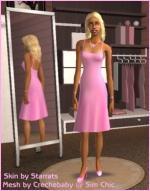 Pink summer dress Preview