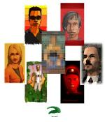 Sim Brother 4 Paintings Preview