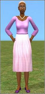 Purple granny dress Preview