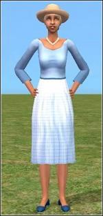 Light blue granny dress Preview