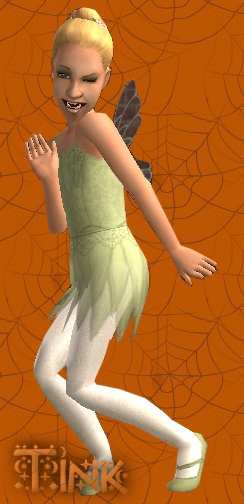 Tinkerbell Costume Preview