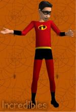 Incredibles Costume Preview