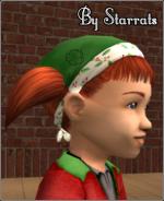 Toddler girl christmas bandana Preview