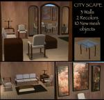City Scape Set Preview
