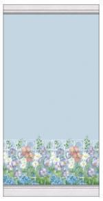 Blue floral fence Preview