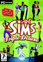 The Sims Triple Deluxe Box